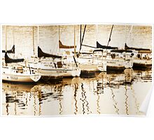 Boats for sail Poster