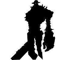 Shadow of the Colossus Gaius - Black Photographic Print