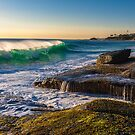 Aliso Beach Late Afternoon by photosbyflood