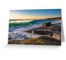 Aliso Beach Late Afternoon Greeting Card