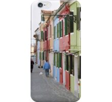 Colours of Burano iPhone Case/Skin