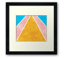 Bright Rays Framed Print