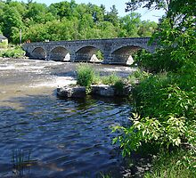 5-Span Stone Bridge by George Cousins