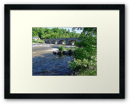 5-Span Stone Bridge by George Cousins