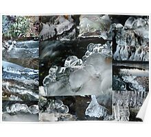 Winter Collage Poster