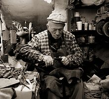 Old shoemaker by JudyBJ