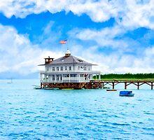 Vintage Alabama - Mobile Yacht Club - Monroe Park by Mark Tisdale