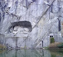 The Lion Of Lucerne by nadiairianto