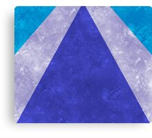Blue Rays Canvas Print