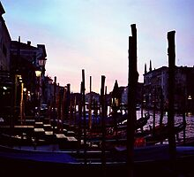 Dusk on the Grand Canal by Tiffany Dryburgh