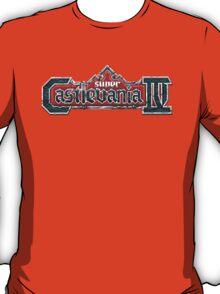 Castlevania 4 (SNES) Title Screen T-Shirt