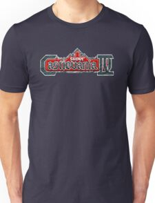 Castlevania 4 (SNES) Title Screen Unisex T-Shirt