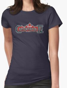 Castlevania 4 (SNES) Title Screen Womens Fitted T-Shirt
