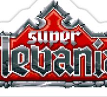 Castlevania 4 (SNES) Title Screen Sticker