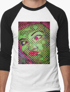 Franken`Duck-Face Men's Baseball ¾ T-Shirt