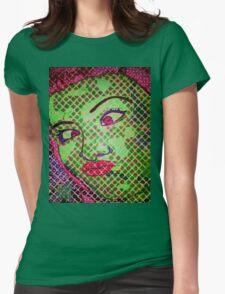 Franken`Duck-Face Womens Fitted T-Shirt