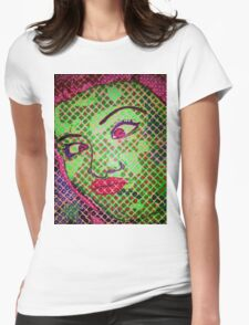 Franken`Duck-Face Womens Fitted T-Shirt