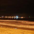 Nightime Beach by Richard Nelson