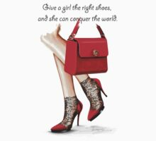 In my shoes  by Elina Sheripova