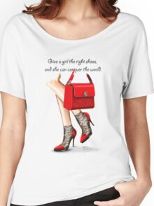 In my shoes  Women's Relaxed Fit T-Shirt