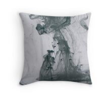 woman and tree Throw Pillow