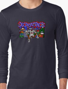 Decapattack (Genesis) Title Screen Long Sleeve T-Shirt