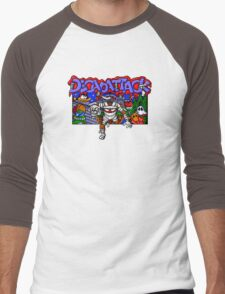Decapattack (Genesis) Title Screen Men's Baseball ¾ T-Shirt