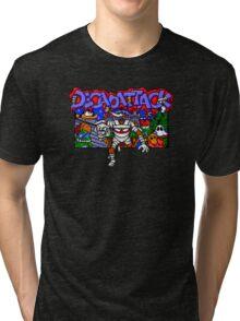 Decapattack (Genesis) Title Screen Tri-blend T-Shirt