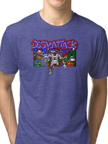 Decapattack (Genesis) Title Screen Tri-blend T-Shirt