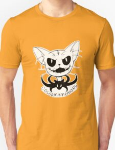 "Cat Skellington ""Mow"" T-Shirt"