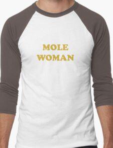 Mole Woman Men's Baseball ¾ T-Shirt