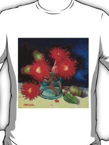 Flowering Gum Blossoms Still Life T-Shirt