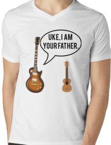 Uke Im Your Father Mens V-Neck T-Shirt