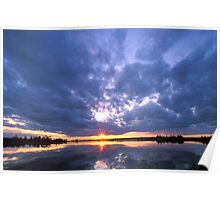 Dollarville Sunset  Poster