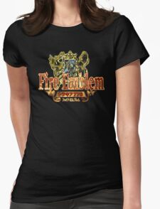 Fire Emblem (GBA) Title Screen Womens Fitted T-Shirt