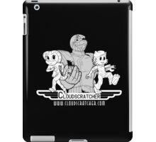 Cloudscratcher - White iPad Case/Skin