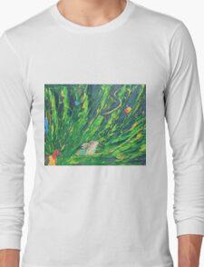 Rainforest Hues Long Sleeve T-Shirt