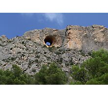 Hole In The Hill Photographic Print