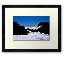 Piton des Neiges Framed Print