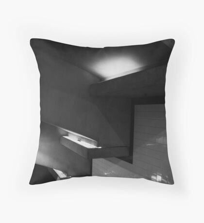 Metro Subway Station Beverly Throw Pillow