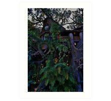 Tarzan's Tree House Art Print
