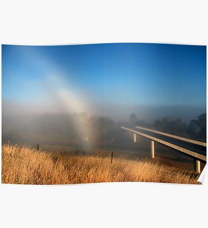 Fog Bow Poster