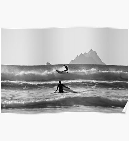 St. Finian's Bay - 'Silver Surfers' Poster