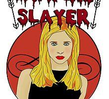 Buffy The Vampire Slayer by paton