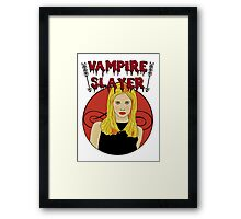 Buffy The Vampire Slayer Framed Print