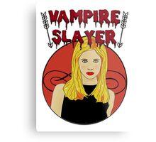 Buffy The Vampire Slayer Metal Print