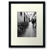 Classic Alleyway Framed Print