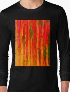 Red Fire Long Sleeve T-Shirt