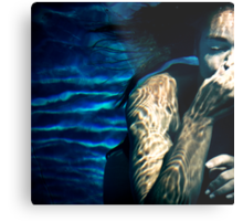 Underwater Tribal Metal Print