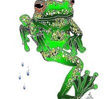 Dancing Frog by Diane Giusa